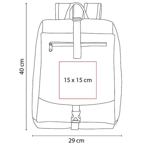 SIN 099 R mochila lorze color rojo 2