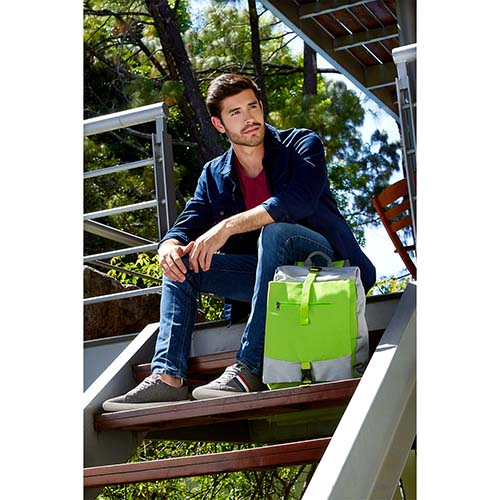 SIN 099 V mochila lorze color verde 2
