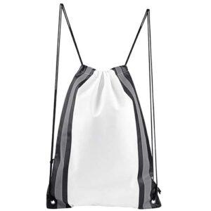 SIN 107 B bolsa mochila simme color blanco