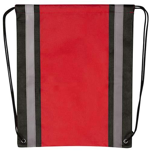 SIN 107 R bolsa mochila simme color rojo