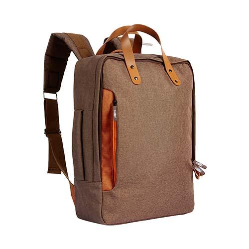 SIN 115 C mochila portafolio daro color cafe 1