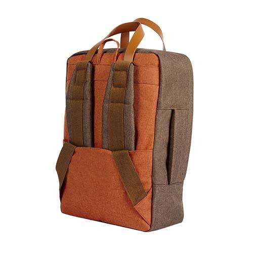 SIN 115 C mochila portafolio daro color cafe 2