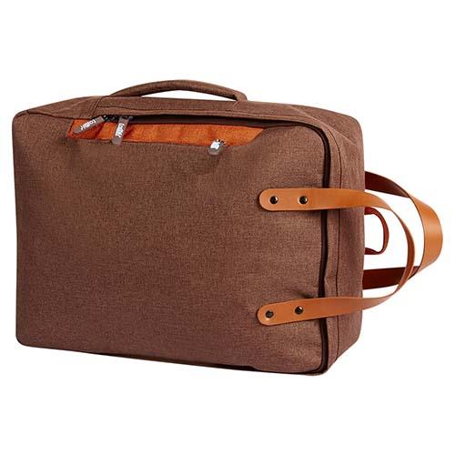 SIN 115 C mochila portafolio daro color cafe 4