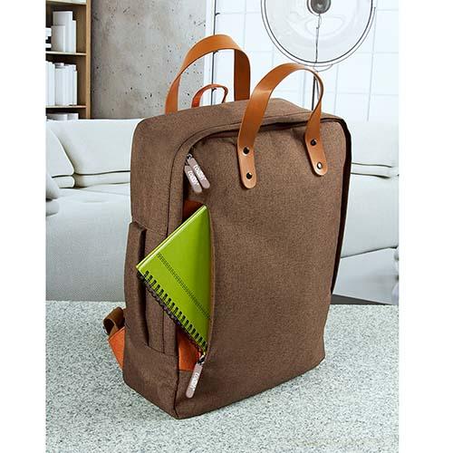 SIN 115 C mochila portafolio daro color cafe 5