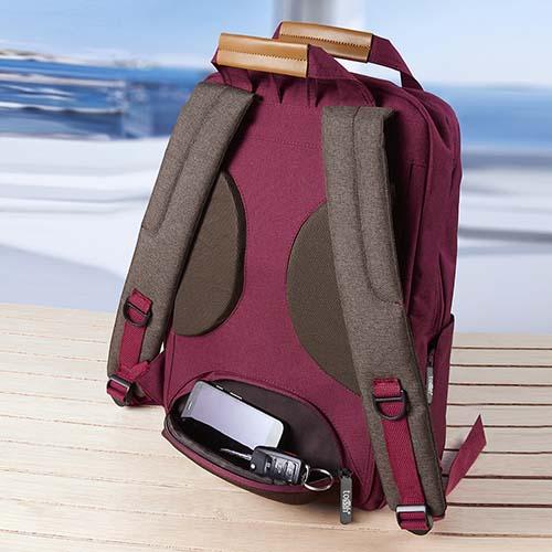 SIN 116 R mochila masai color rojo 3