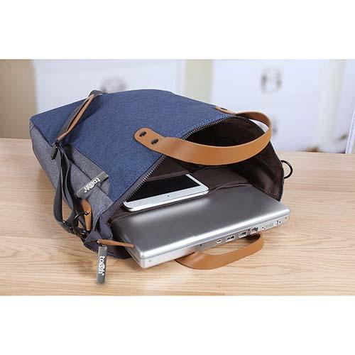 SIN 117 A portafolio halley color azul 2