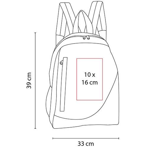 SIN 120 R mochila mauritania color rojo 2