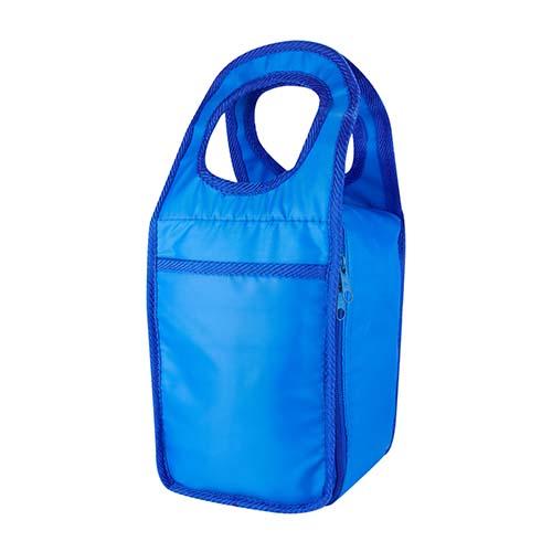 SIN 129 A lonchera lille color azul