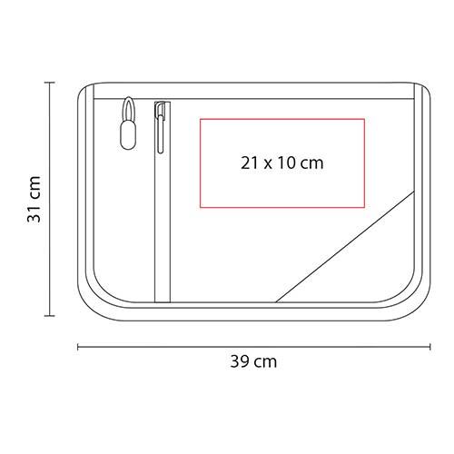SIN 135 N portafolio cadiz color negro 3