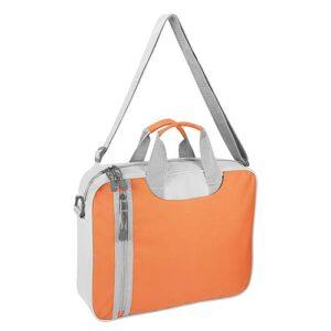 SIN 136 O porta laptop danuvio color naranja