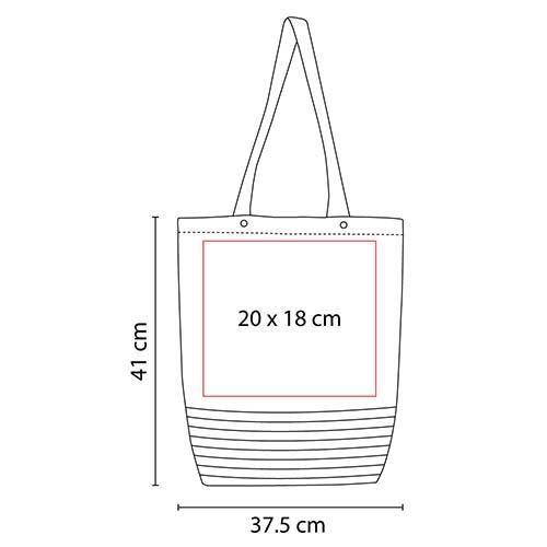 SIN 138 R bolsa mezzola color rojo 2