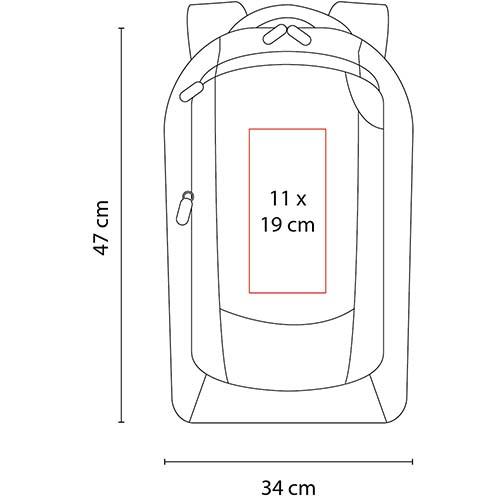 SIN 142 S mochila porta laptop corvus 5