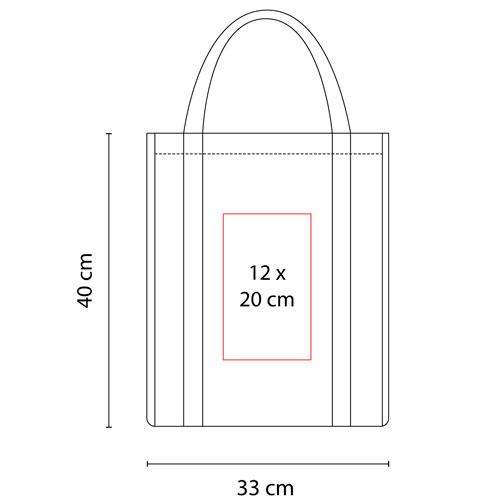 SIN 146 R bolsa mildura color rojo 3