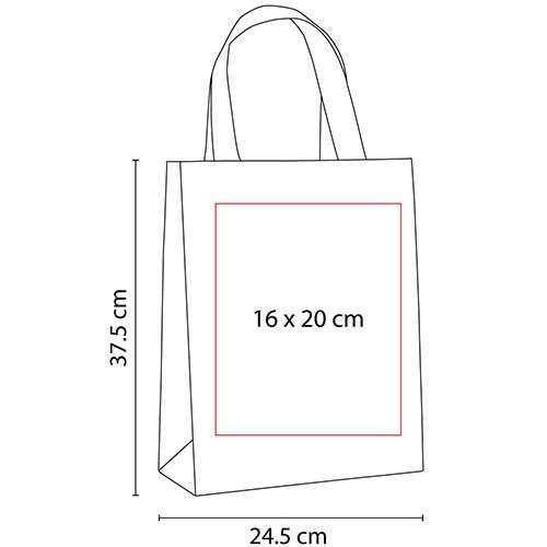 SIN 147 R bolsa baggara color rojo 3