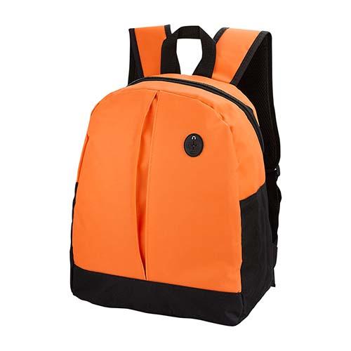 SIN 148 O mochila keit color naranja 3