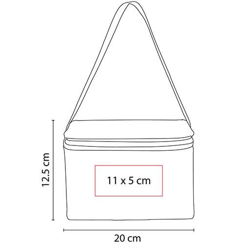 SIN 156 R lonchera ziar color rojo 2