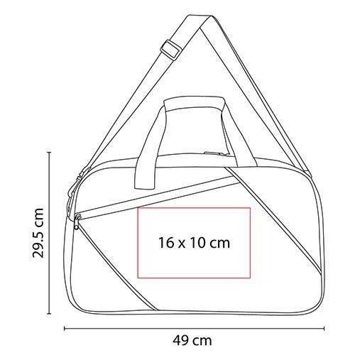 SIN 168 R maleta tabush color rojo 3