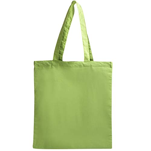 SIN 210 V bolsa cotton slim color verde