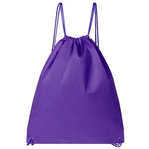 SIN 235 M bolsa mochila astorga color morado 1