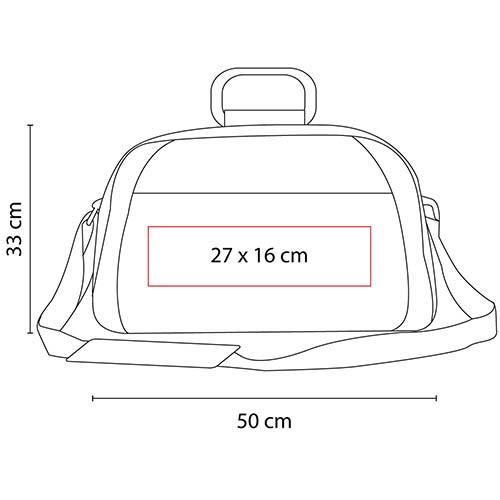 SIN 307 R maleta andino color rojo 2