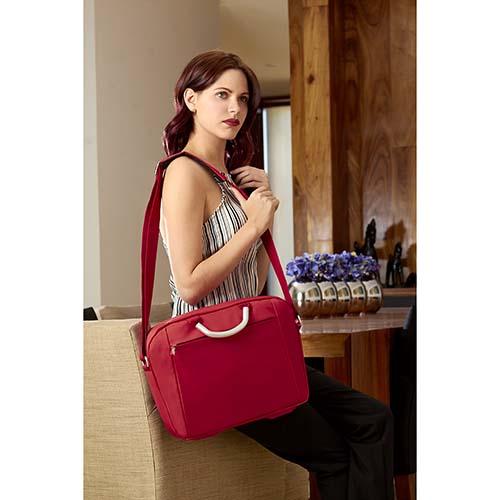SIN 308 R portafolio florencia color rojo 2