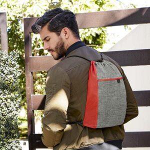SIN 315 R bolsa mochila aracar color rojo