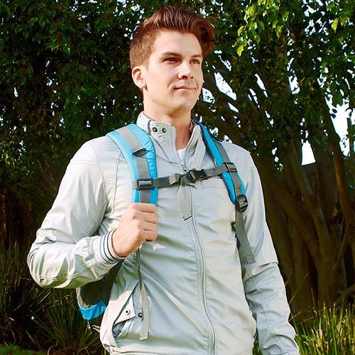 SIN 903 A mochila adventure color azul 3