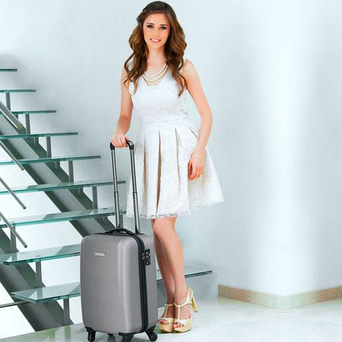 SIN 905 S maleta venecia color plata 2