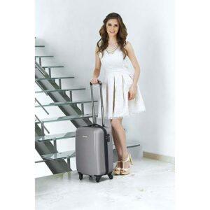 SIN 905 S maleta venecia color plata