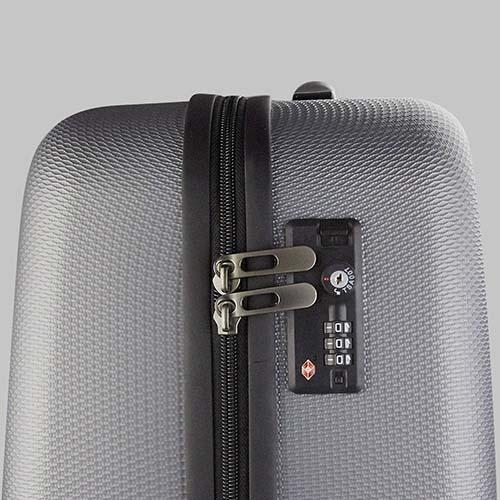 SIN 905 S maleta venecia color plata 4