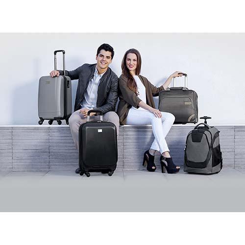 SIN 905 S maleta venecia color plata 6