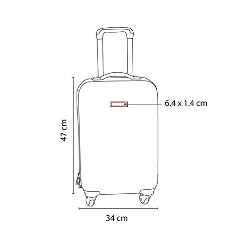 SIN 905 S maleta venecia color plata 7