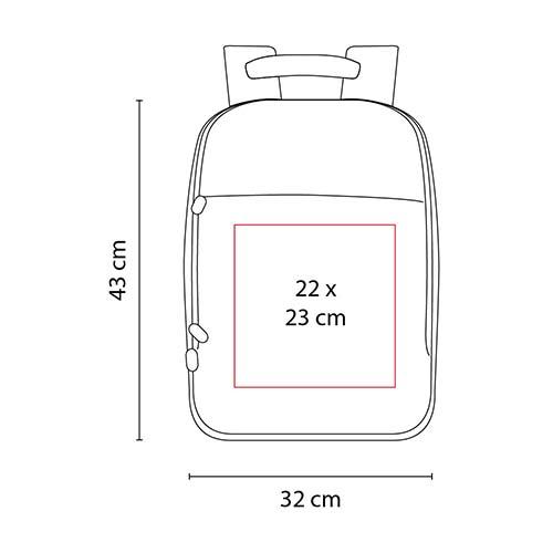 SIN 909 A mochila cisse color azul 3