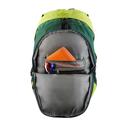 SIN 915 V mochila bitono nova color verde 2