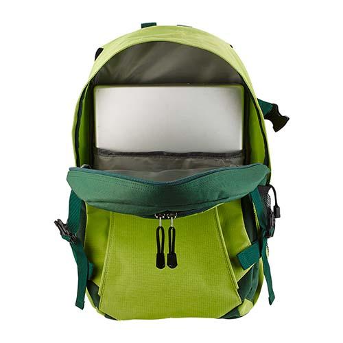 SIN 915 V mochila bitono nova color verde 3