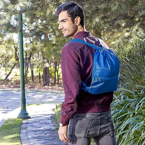 SIN 933 A bolsa mochila anshar color azul 2