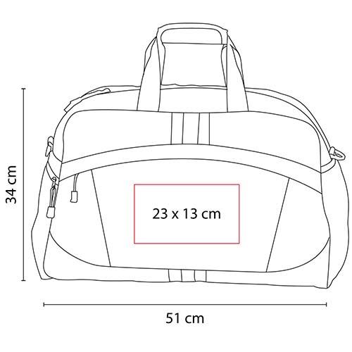 SIN 960 R maleta tiber color rojo 2