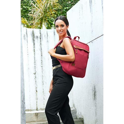 SIN 965 R mochila haisla color rojo