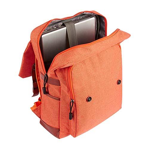 SIN 971 O mochila skadi color naranja 2