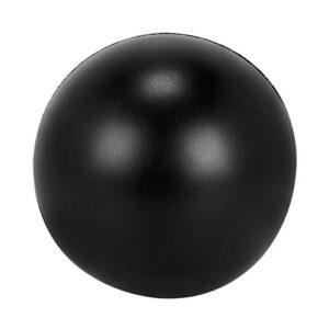 SOC 013 N pelota anti stress lisa color negro