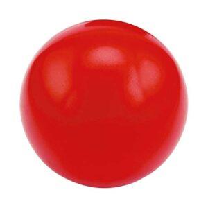 SOC 013 R pelota anti stress lisa color rojo