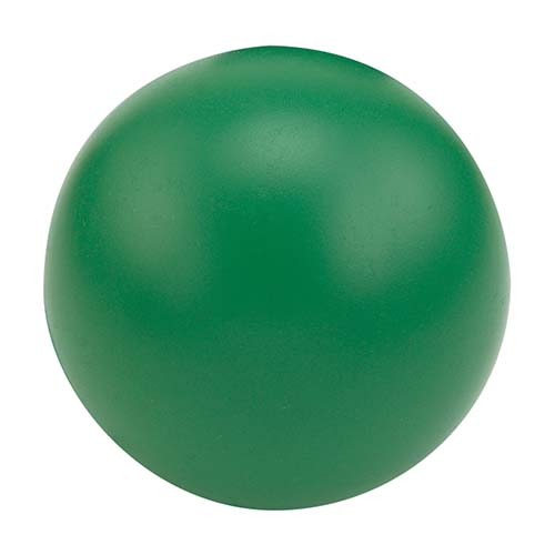 SOC 013 V pelota anti stress lisa color verde 1