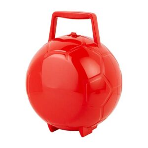 SOC 078 R lonchera gol color rojo