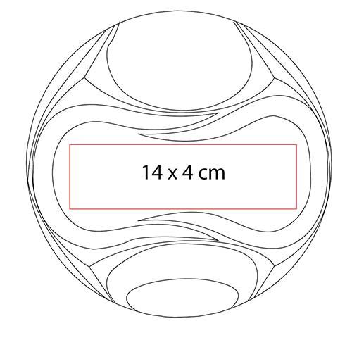 SOC 600 R balon kot en color rojo 3