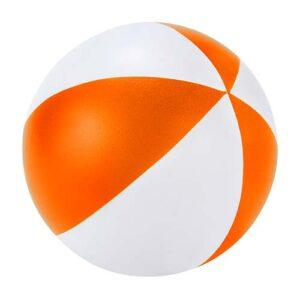 SOC 920 O pelota anti stress beach naranja