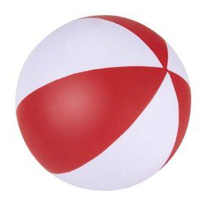 SOC 920 R pelota anti stress beach color rojo