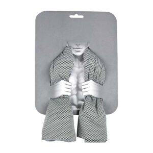 SPO 002 G toalla deportiva luga color gris
