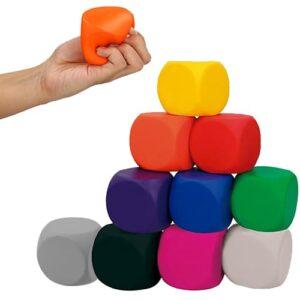 Squishy en forma de cubo con aroma.