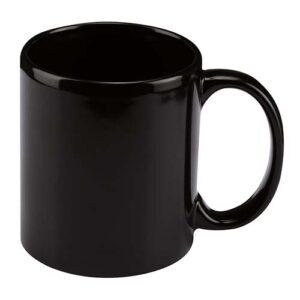 TAZ 001 N taza espirit color negro