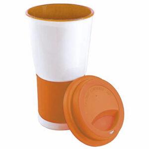 TAZ 007 O vaso venetta color naranja